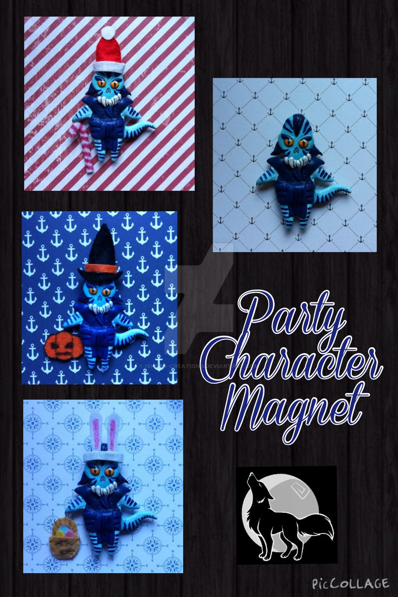 Contest Entry - Party Character Magnet by Ishtar-Creations