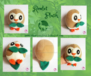 Rowlet Plush