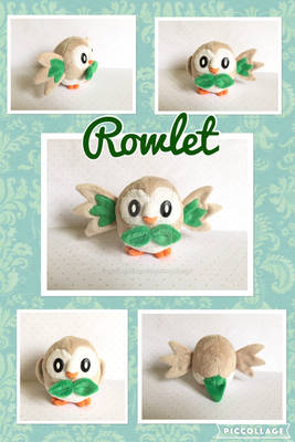 Rowlet Minky Plush FOR SALE