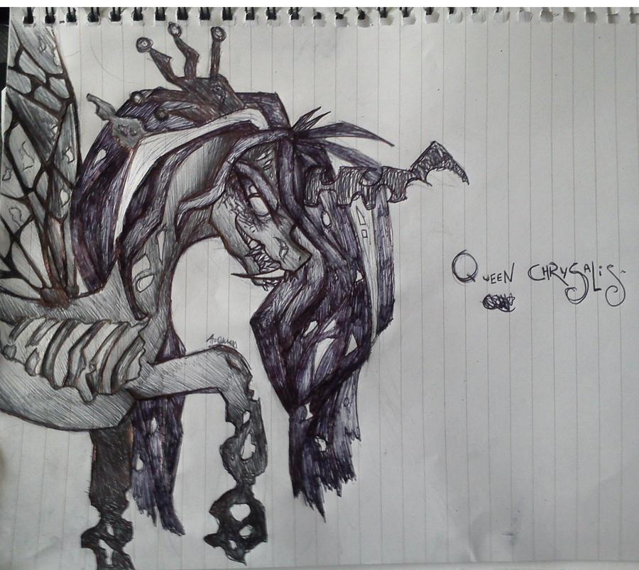 Queen Chrysalis by GrimmSouls