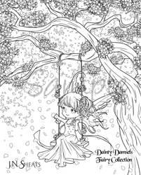DD Fairy Collection: Cherry Blossom Fairy