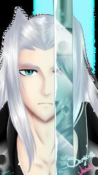 Sephiroth and Jenova by ProjectDB14