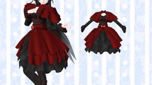 [MMD] - Lolita Dress - [DL] by TMoonlightA