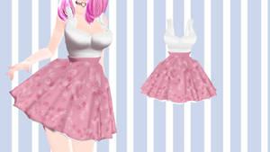 [MMD] - Shirt more Skirt - [DL]