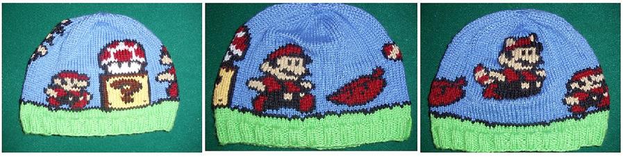 Mario Transformation Hat