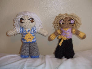 YGO: Bakura and Malik Dolls