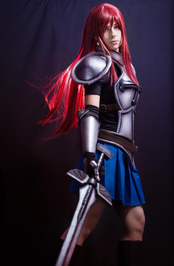erza scarlet cosplay heart kreuz armor v2 by
