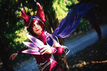 Xayah The Rebel Cosplay - League of Legends