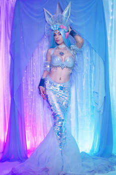 Mermaid Glaceon Cosplay ( SunsetDragon Design )