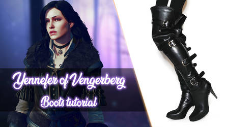 Yennefer Boots Tutorial
