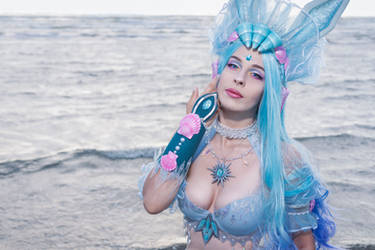 Mermaid Glaceon Cosplay