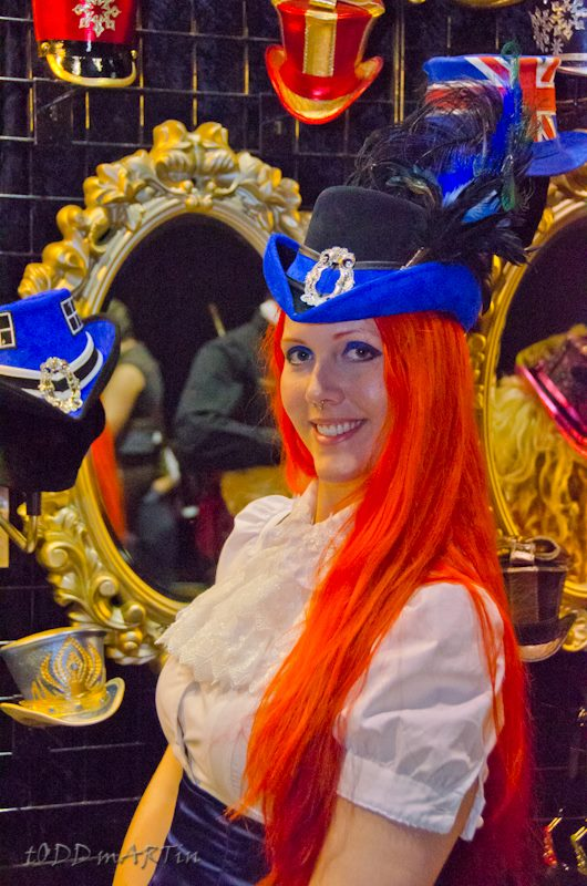 Bright hair bright hat by godsmistake