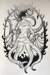 Tentacle Babe. by LauraNeocleous