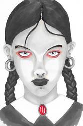 Wednesday Addams by PDInk