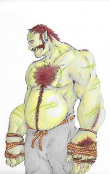 BoulderGut - Half Orc Monk