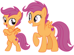 Filly and Mare Scootaloo
