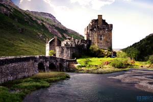 Eilean Donan Castle by KnightRanger