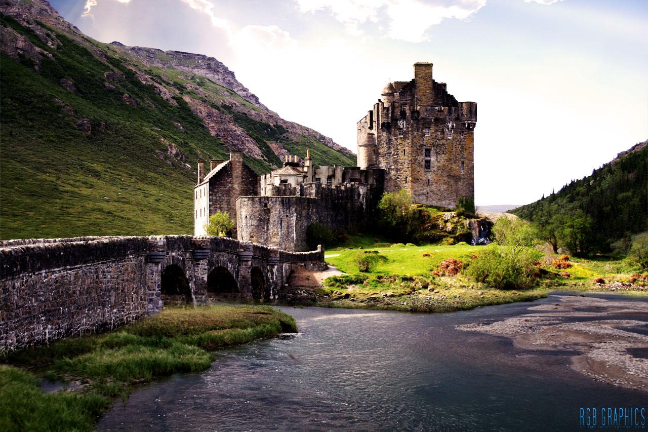 1366x768 eilean donan castle - photo #29