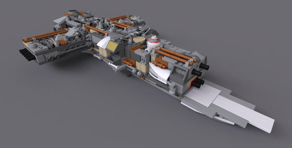 Lego Star Wars UCS YWing (WIP) by KnightRanger on DeviantArt