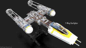 75181 Y-Wing with Stand