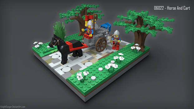 06022 Horse and Cart