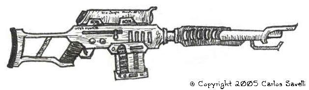 Futuristic Sniper Rifle by Illevas001