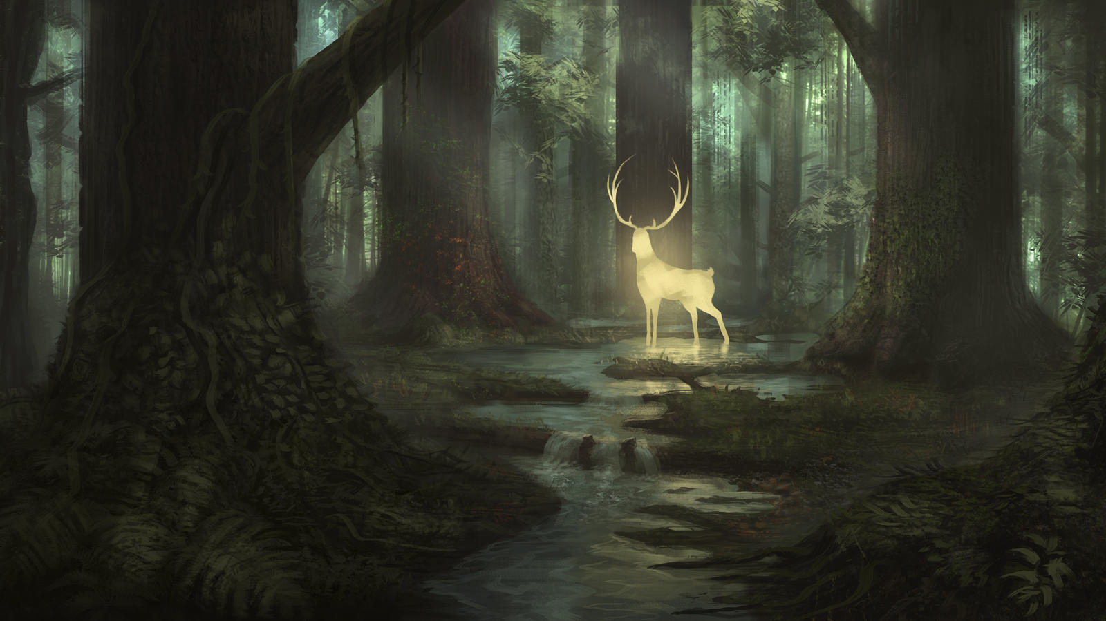 Magic Deer by Sucdeportocale