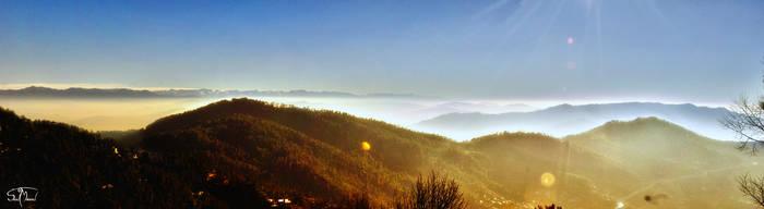 Kashmir View by sunnydsl