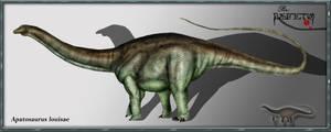 Apatosaurus louisae by karkemish00