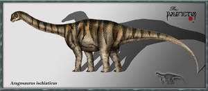 Aragosaurus ischiaticus by karkemish00