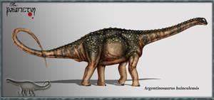 Argentinosaurus huinculensis by karkemish00