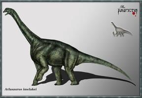 Atlasaurus imelakei by karkemish00