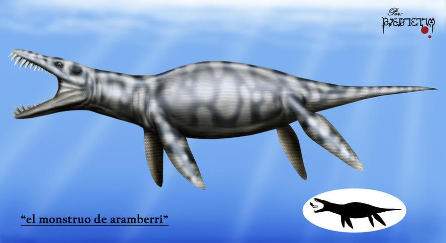 Top 10 größte(=schwerste)Meeresraubitere. The_Monster_of_Aramberri_by_karkemish00