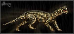 Gorgonops rubidgea