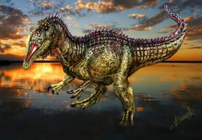 Siamosaurus suteethorni by karkemish00
