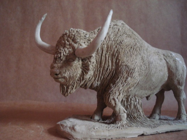 Bison aguascalientensis clay2