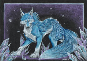 Icewolf by wang-POW