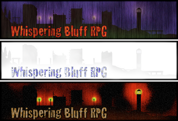 Whispering Bluff Banners by Dragavan