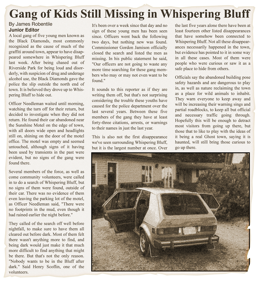 Missing Kids Clipping