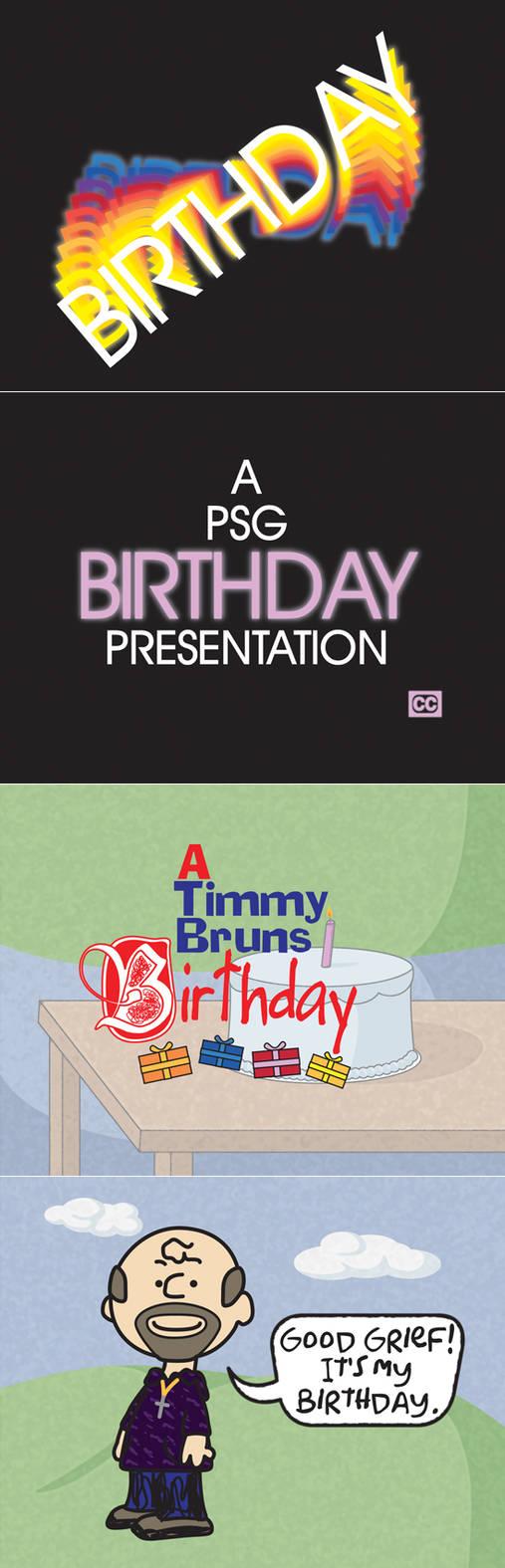 A Timmy Bruns Birthday