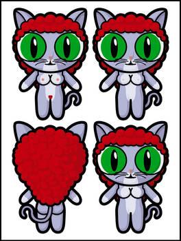 Catgirl 1 Blank by Dragavan