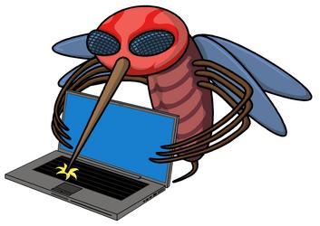 Bugsquito Virus by Dragavan
