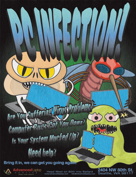 PC INVASION Poster