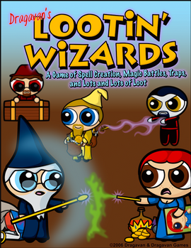 Lootin' Wizards Cover A1
