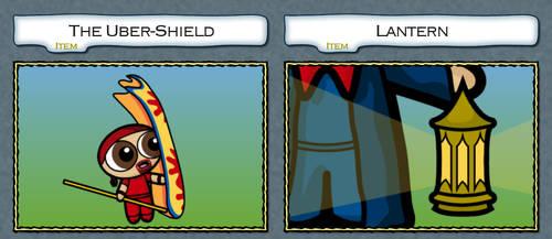 Lantern and Uber-Shield by Dragavan