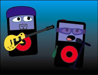 U2 iPods by Dragavan
