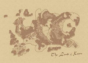 Karntinent Map