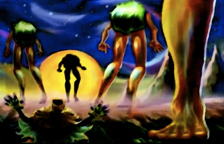 The Four Giants by Capasin
