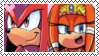 Stamp: KnucklesXTikal by P0k3ys-Stamps