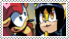 Stamp: MightyXHoney by P0k3ys-Stamps